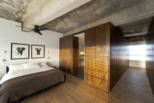 Industriele Slaapkamer Ideeen : Industriële slaapkamer voormalig fabriek in londen slaapkamer ideeën