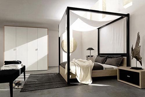Moderne slaapkamer van kleinschalig appartement slaapkamer idee n - Huis slaapkamer ...