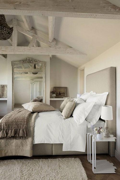 Mooie landelijke slaapkamer
