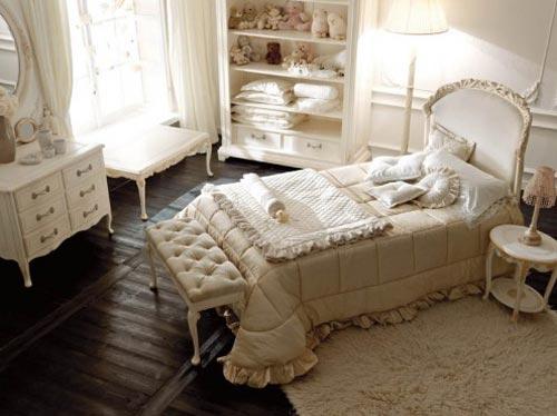 Houten Slaapkamer Meubels : Romantische slaapkamer meubels van Savio ...