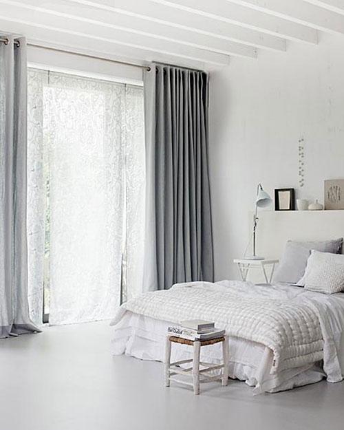 5 mooie landelijke slaapkamers