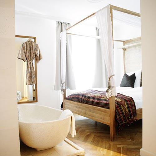 Bad in de slaapkamer | Slaapkamer ideeën