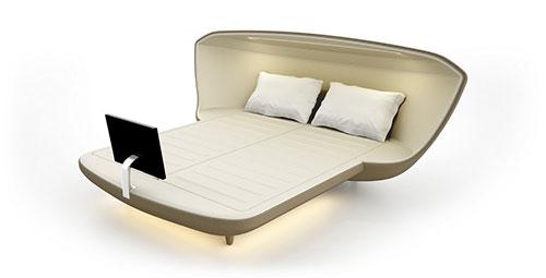 Het bed van de toekomst | Slaapkamer ideeën
