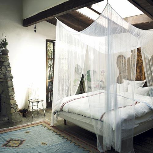Klamboe als slaapkamer decoratie slaapkamer idee n - Decoratie bed ...