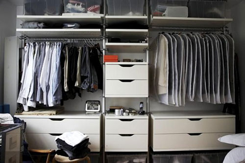 Kleine Slaapkamer Met Kledingkast Slaapkamer Ideeën