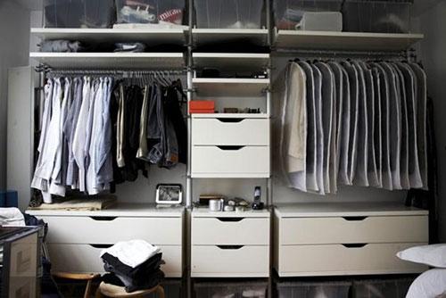 Ikea Kasten Slaapkamer : Kleine slaapkamer met kledingkast slaapkamer ideeën