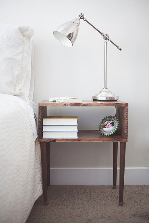 Leuke nachtkastjes  Slaapkamer ideeën
