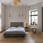 Loft slaapkamer met industrieel tintje