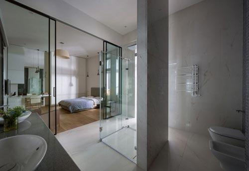 Loft slaapkamer met industrieel tintje   Slaapkamer idee u00ebn