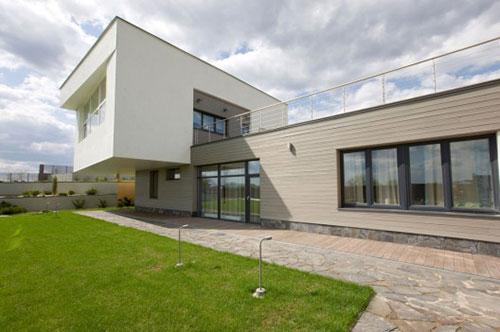 Landelijke Wandverlichting Slaapkamer : Moderne villa slaapkamer uit ...
