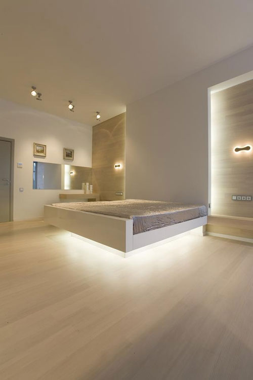 moderne villa slaapkamer uit moskou