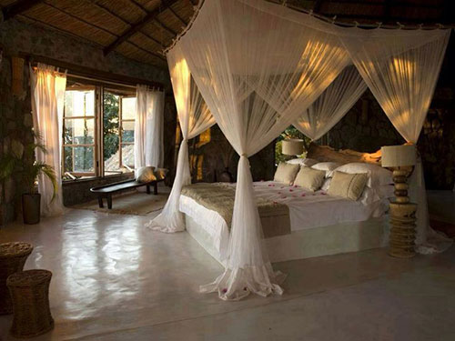 Mooie romantische slaapkamer slaapkamer idee n - Romantische witte bed ...