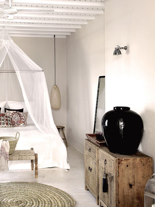 Romantische slaapkamer ideeën van San Giorgio hotel | Slaapkamer ideeën