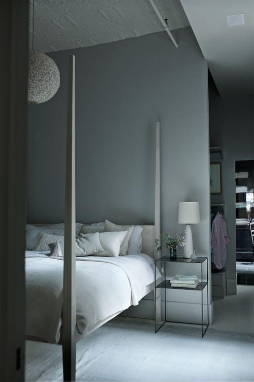 Romantische slaapkamer loft New York   Slaapkamer idee u00ebn