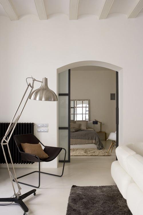 slaapkamer ideeen modern : Sfeervolle witte slaapkamer Slaapkamer ...