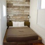Stoere kleine slaapkamer