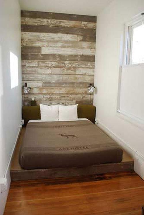 Stoere kleine slaapkamer | Slaapkamer ideeën