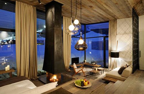 Slaapkamer Ideeen Fotos : Rustieke slaapkamer van het Wiesergut hotel ...