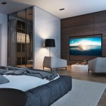 3D ontwerpen luxe slaapkamer