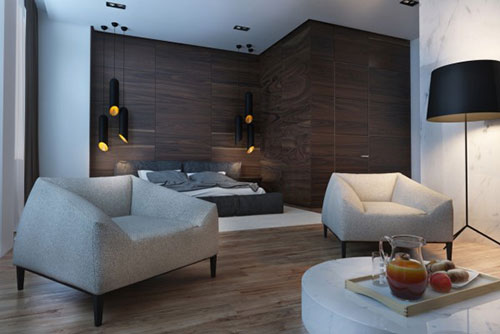 3D ontwerpen luxe slaapkamer | Slaapkamer ideeën