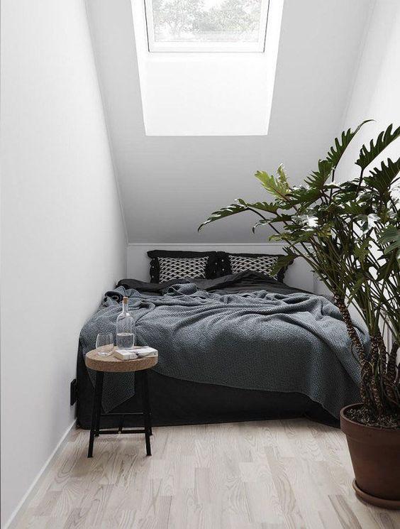 Aardetinten in de slaapkamer