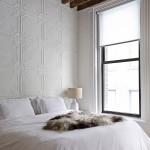 De authentieke details van een Victoriaanse slaapkamer