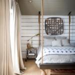 Landelijke slaapkamers van woonboerderij in Tennessee