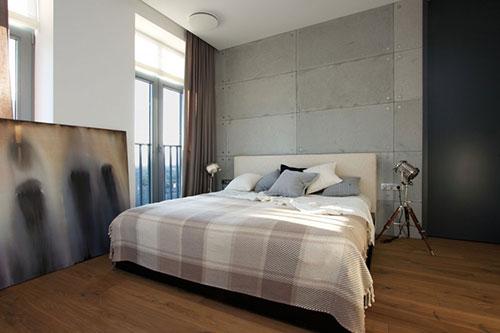 slaapkamer donkere vloer  consenza for ., Meubels Ideeën