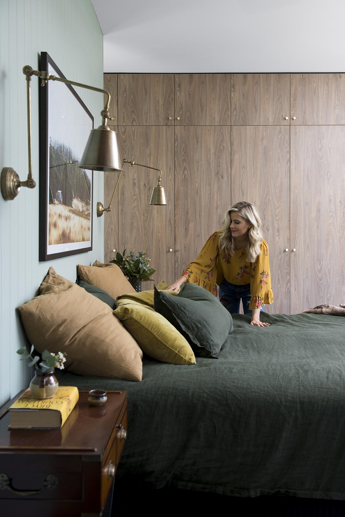 Binnenkijken in de slaapkamer van Micheal en Carlene