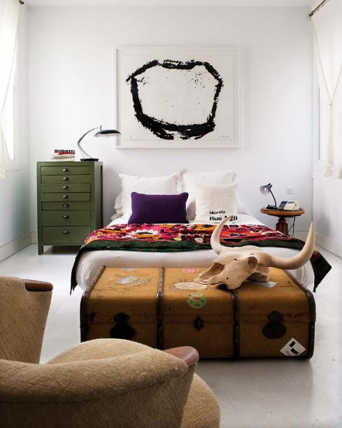 vintage slaapkamer – artsmedia, Deco ideeën