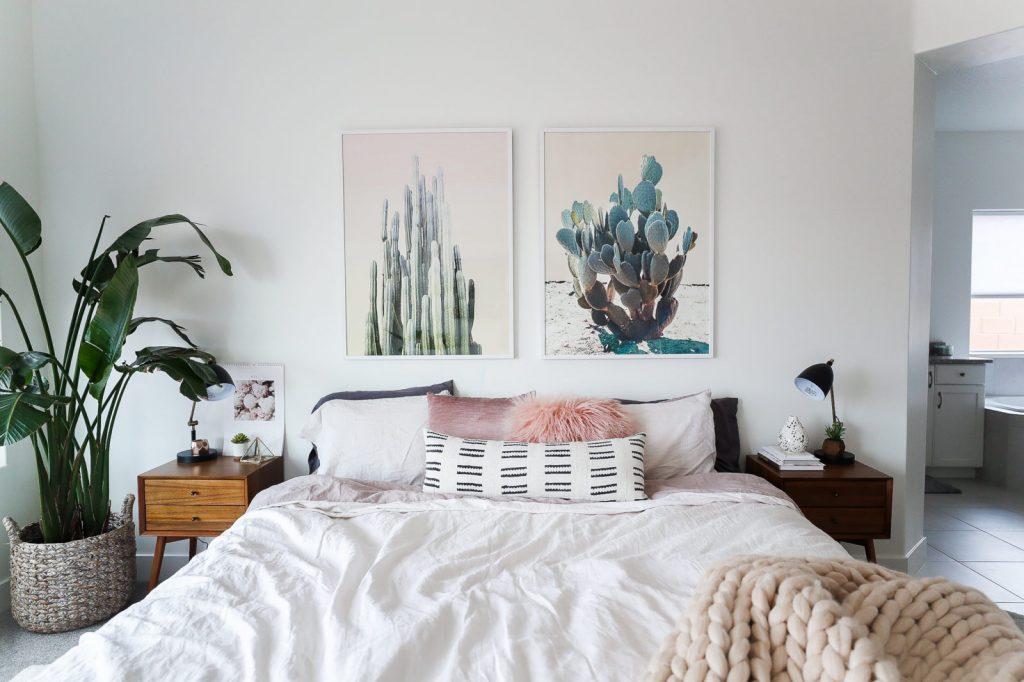 Botanische slaapkamer van lifestyle blogger en vlogger Aspyn Ovard ...
