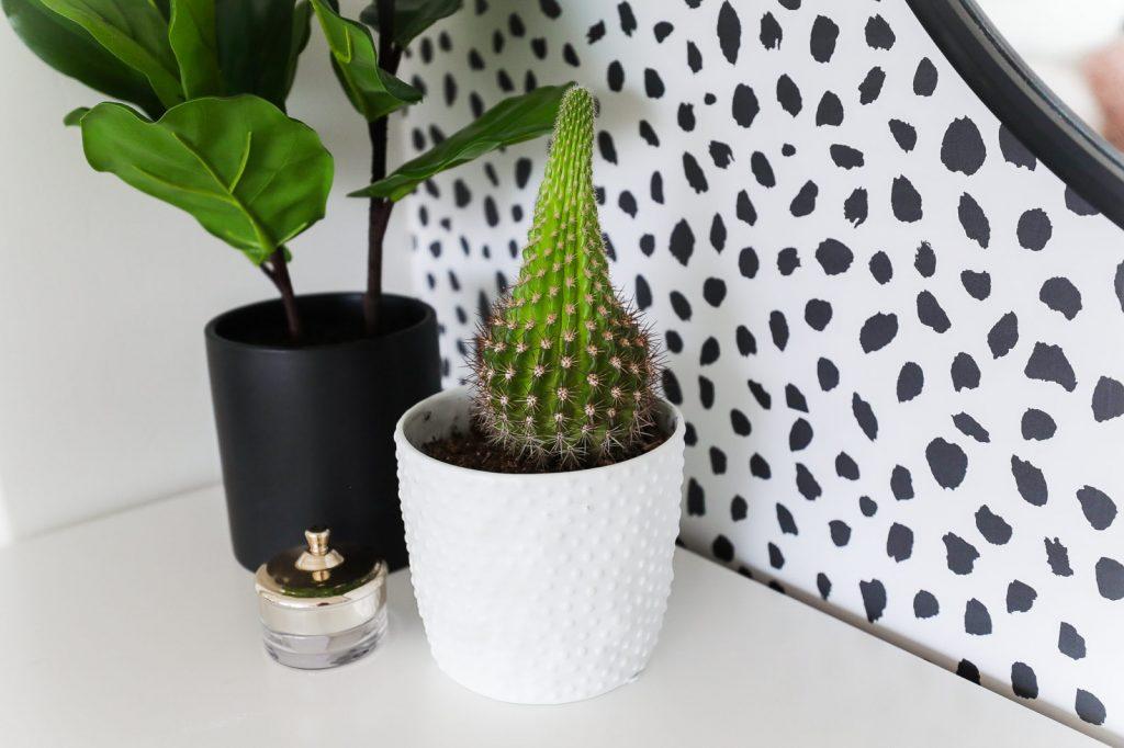 Botanische slaapkamer van lifestyle blogger en vlogger Aspyn Ovard