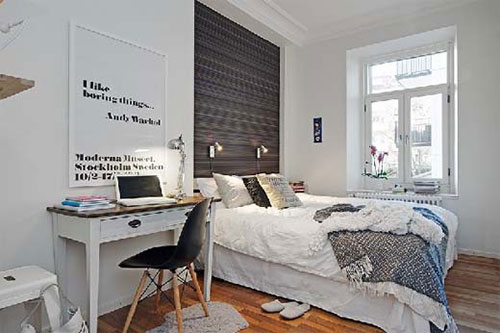 bureau in slaapkamer | slaapkamer ideeën, Deco ideeën
