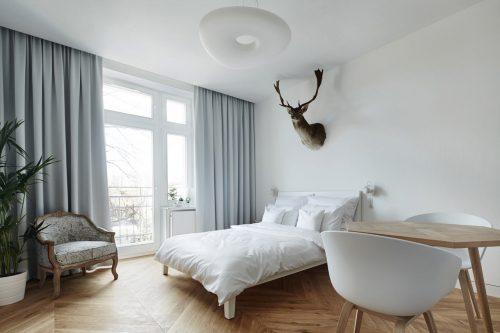 Chique minimalistische slaapkamer  Slaapkamer ideeën