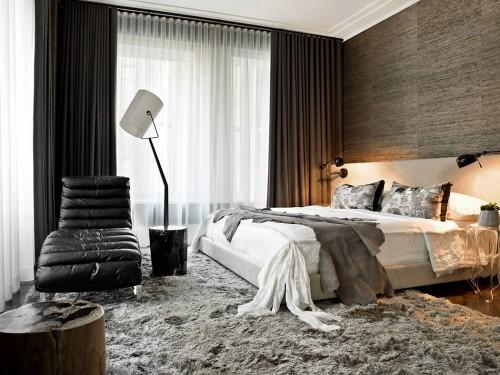 Chique slaapkamer met luxe uitstraling  Slaapkamer ideeën