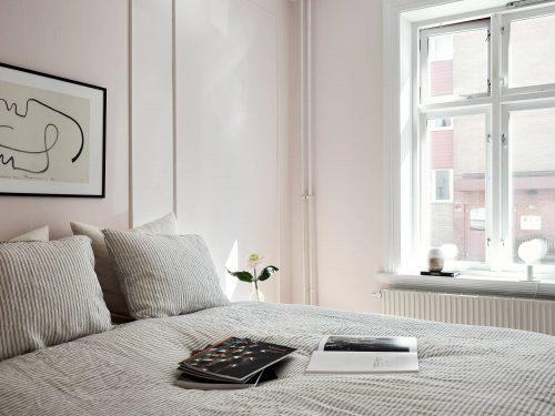 Roze Slaapkamer Volwassenen : Chique slaapkamer met lichtroze muren slaapkamer ideeën