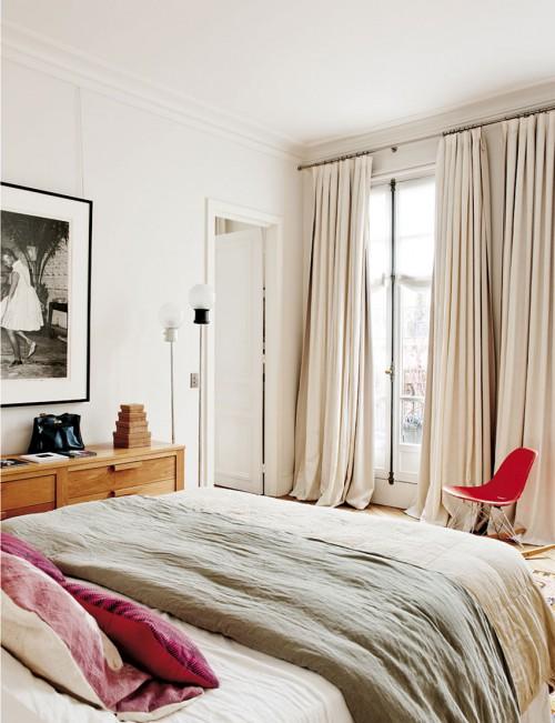 Chique slaapkamer uit Parijs  Slaapkamer ideeën