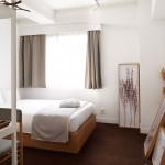 Natuurlijke Japanse slaapkamer van Claska hotel