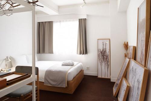 Natuurlijke Japanse slaapkamer van Claska hotel  Slaapkamer ideeën