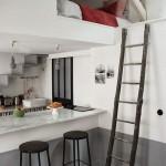 Creatieve oplossing in een klein appartement