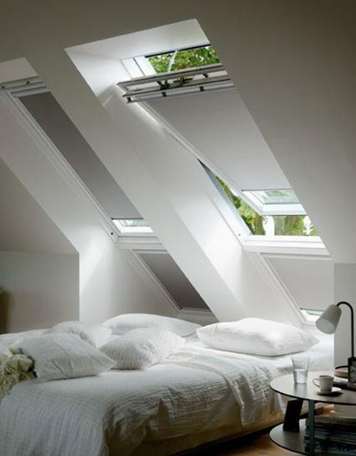 Kleine zolder slaapkamer ideeen for - Idee amenagement zolder klein volume ...