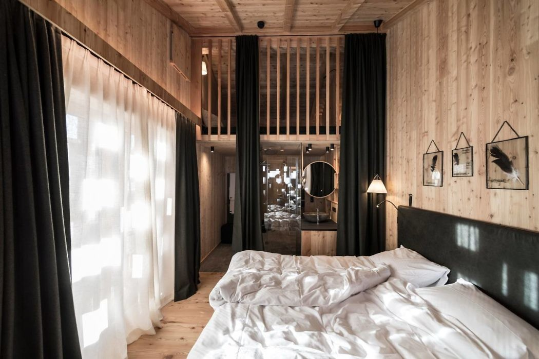 De chalet slaapkamer van Zallinger