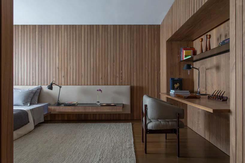 de luxe slaapkamer door studio mk27