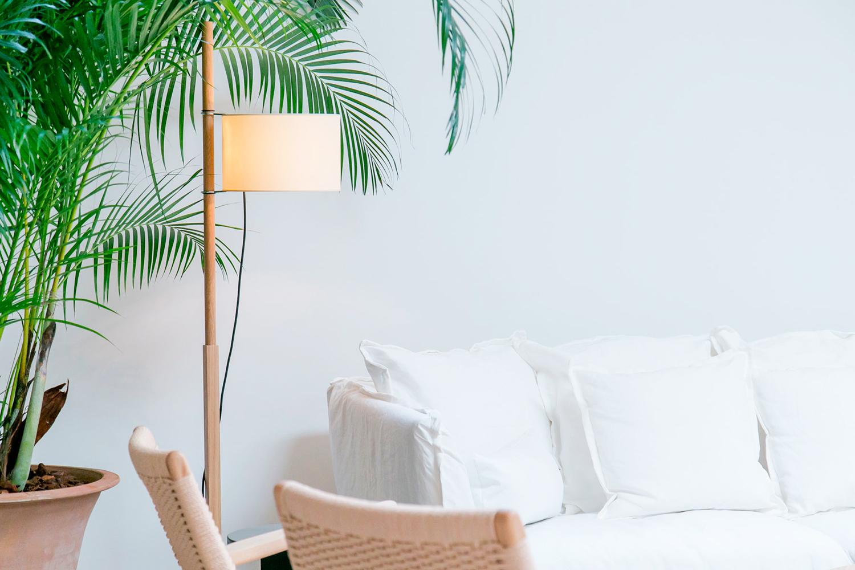 De mooie lichte slaapkamers van Hotel Margot House