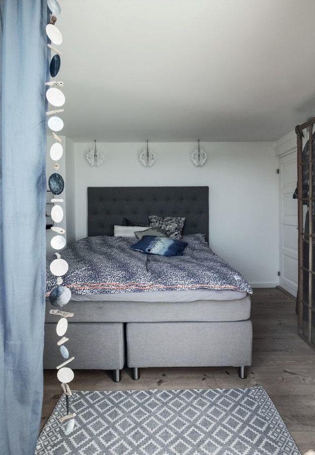 De mooie slaapkamer van een deens visssershuisje slaapkamer idee n - Voorbeeld van de slaapkamer ...