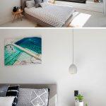 De slaapkamer van het luxe droomhuis van Australische architect