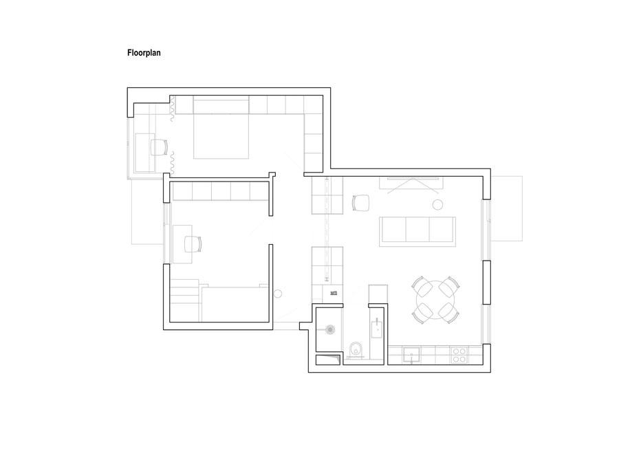 Deense design slaapkamer met maatwerk oplossingen