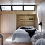 Deense slaapkamer in een bijgebouw