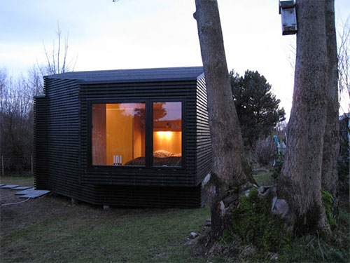 ... slaapkamer : Deense slaapkamer in een bijgebouw Slaapkamer ideeën