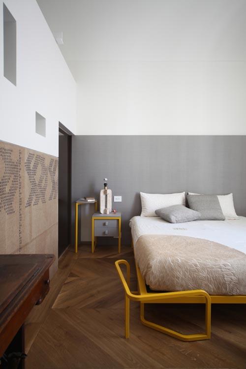 Slaapkamer Kleuren Geel : Design slaapkamer met geel en grijs idee?n